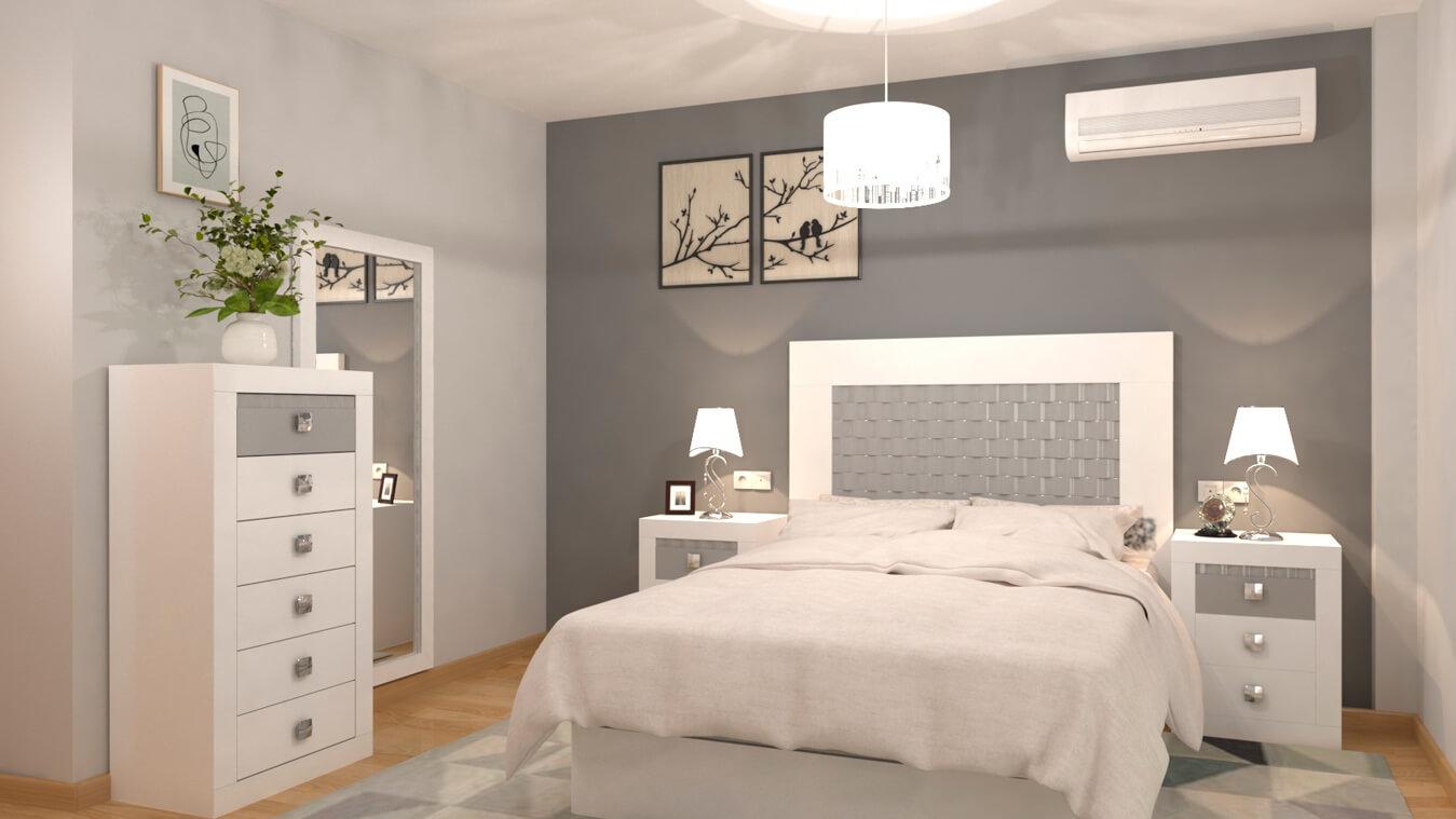 Dormitorio modelo GRANITO OLAS - Ref: 0025