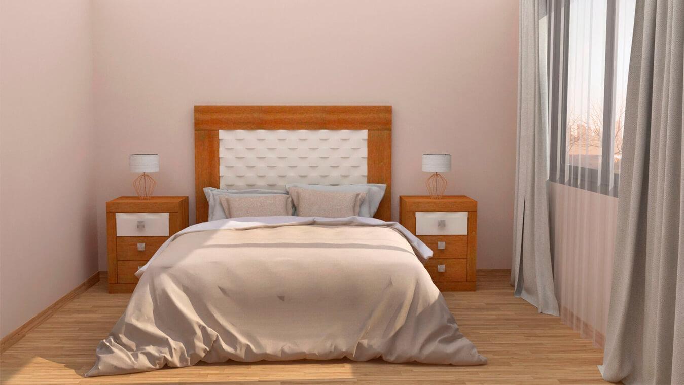 Dormitorio modelo GRANITO OLAS - Ref: 0020