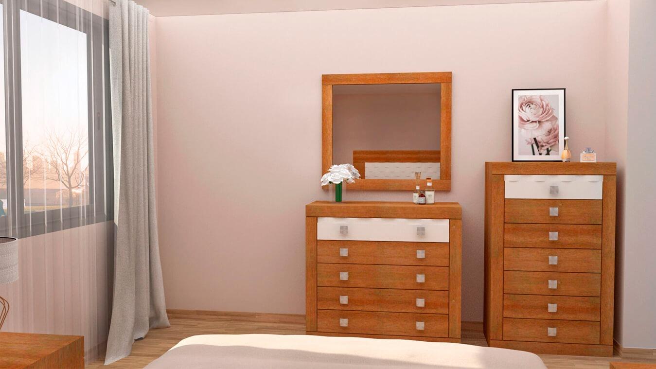 Dormitorio modelo GRANITO OLAS - Ref: 0004