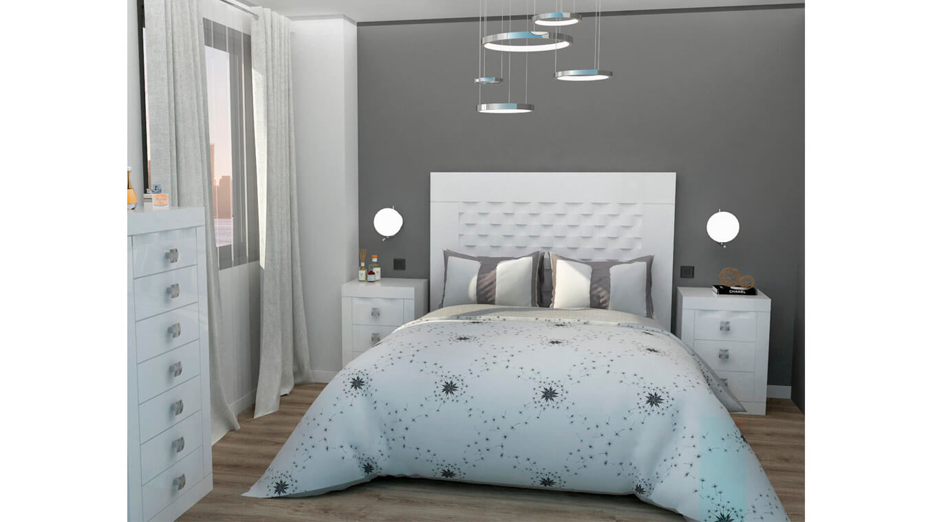 Dormitorio modelo GRANITO OLAS - Ref: 0005