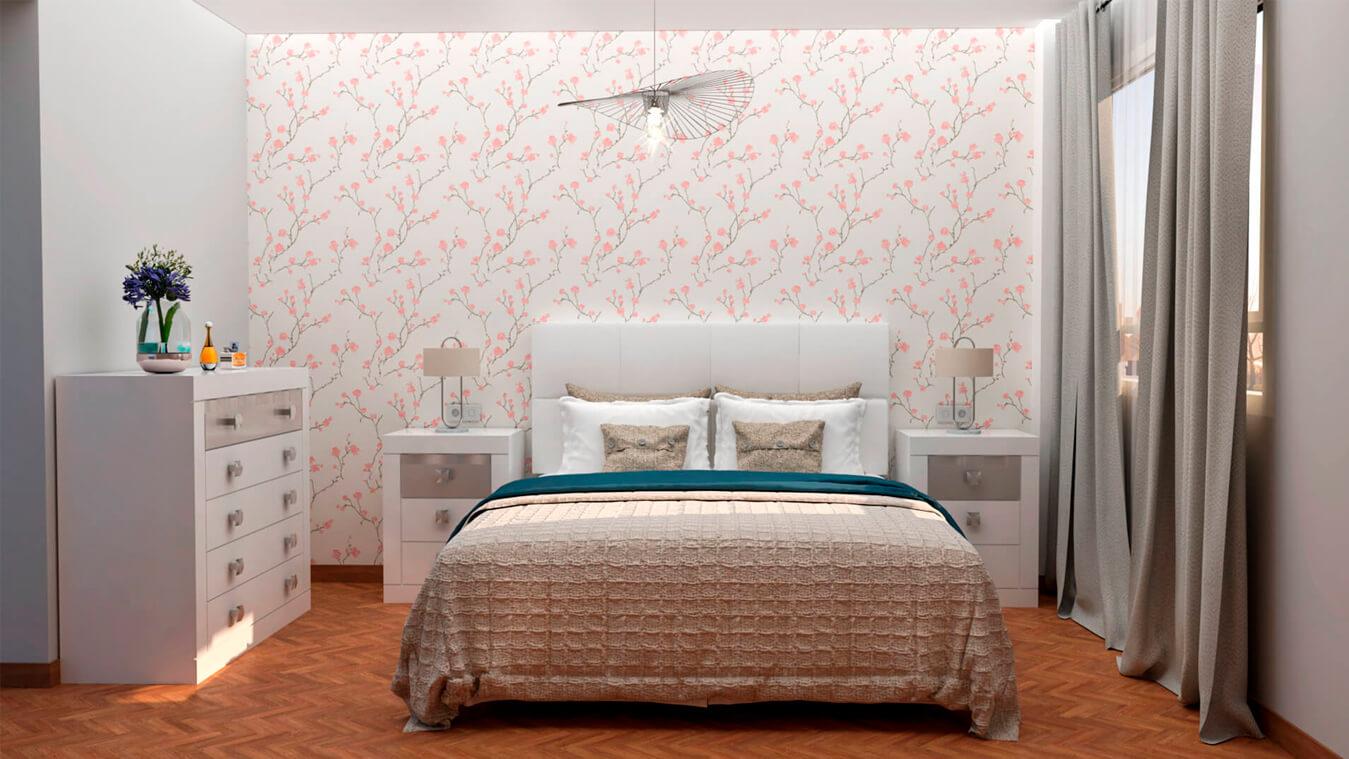 Dormitorio modelo GRANITO OLAS - Ref: 0007