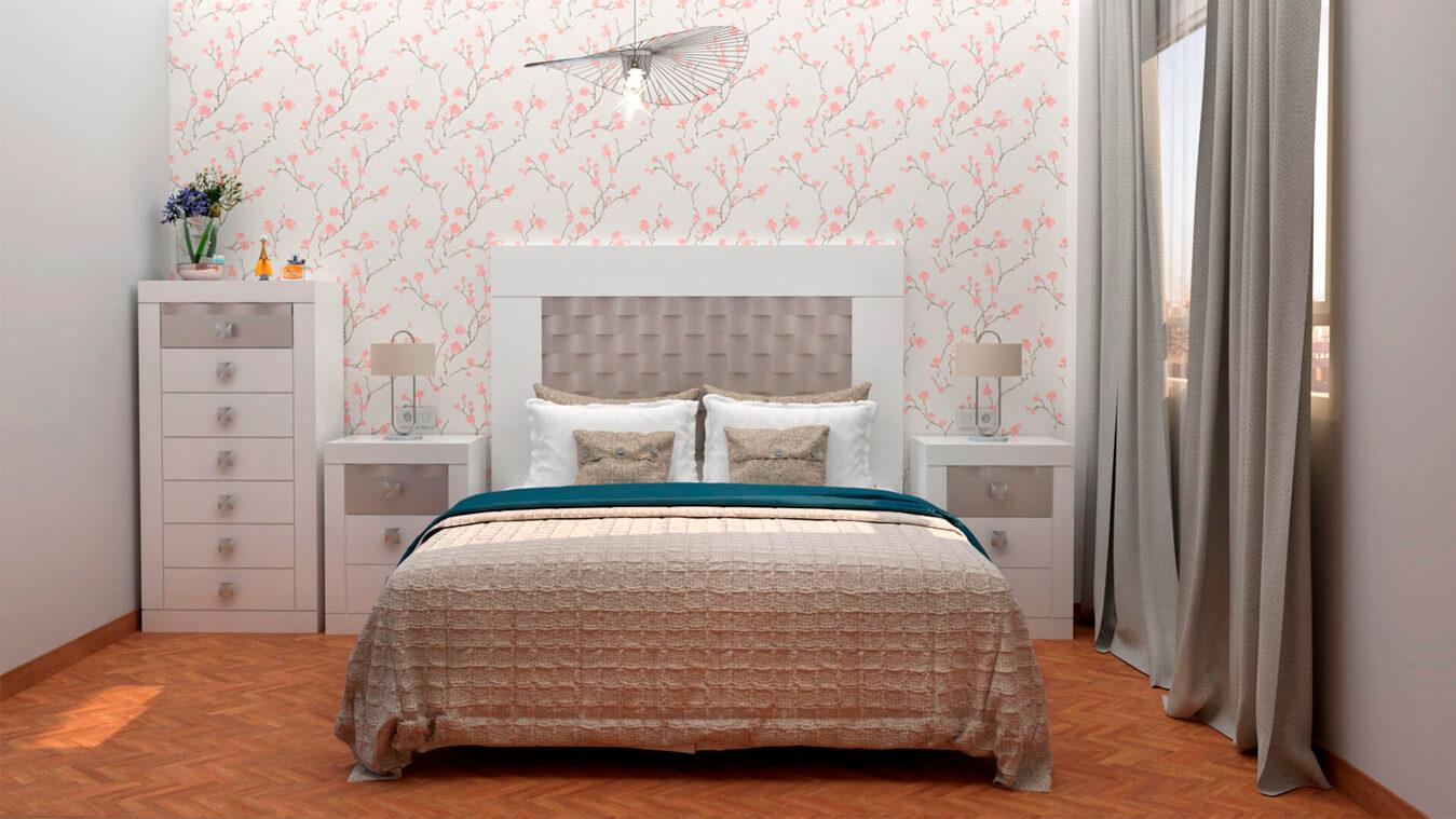 Dormitorio modelo GRANITO OLAS - Ref: 0008