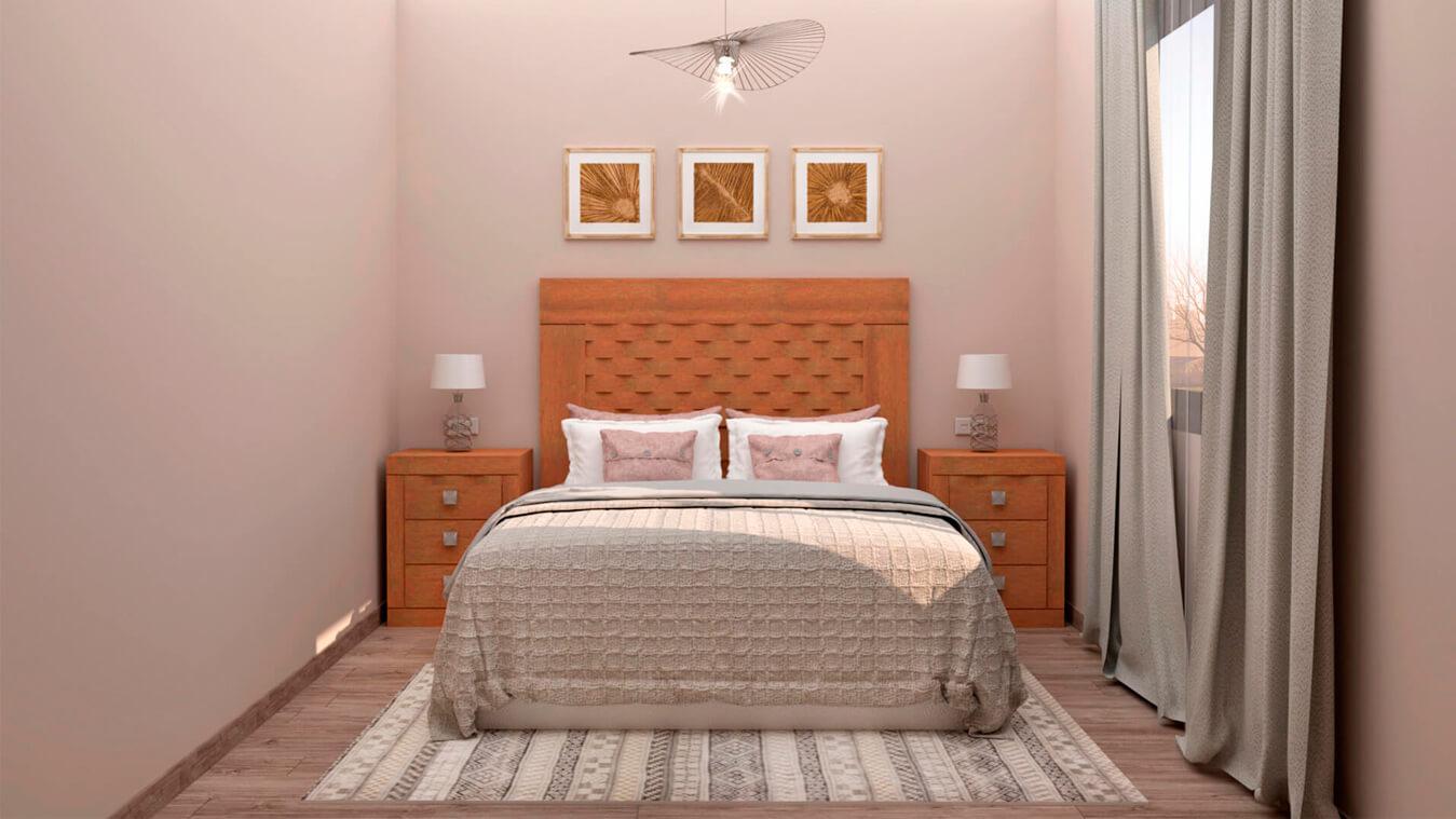 Dormitorio modelo GRANITO OLAS - Ref: 0009