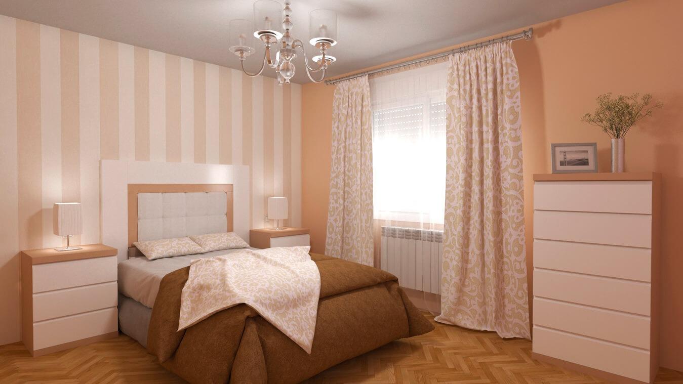 Dormitorio modelo GRANITO SOLAPADO - Ref: 0014
