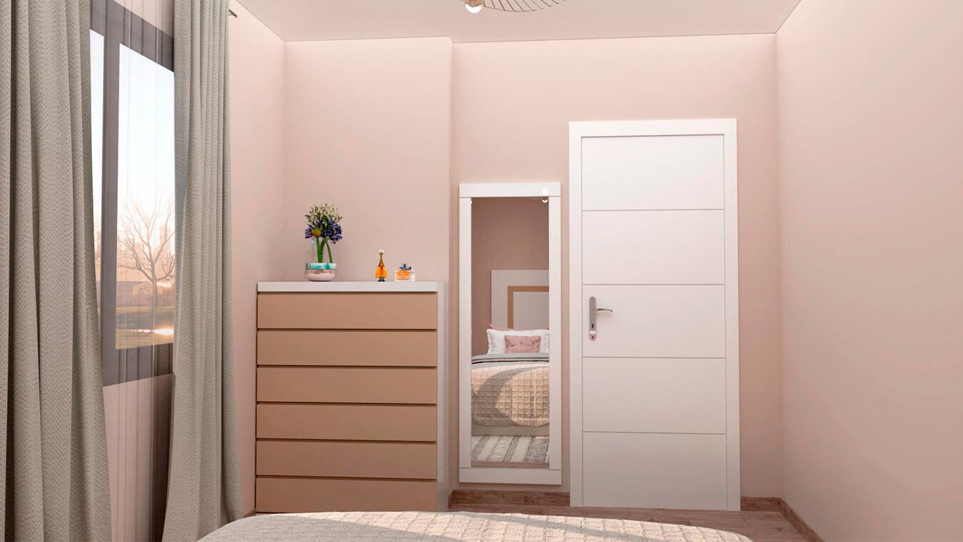 Dormitorio modelo GRANITO SOLAPADO - Ref: 0012