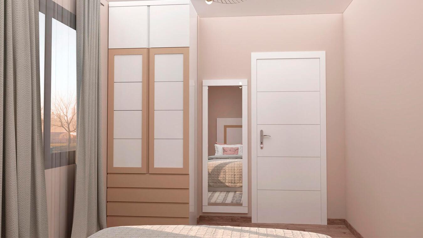Dormitorio modelo GRANITO SOLAPADO - Ref: 0006