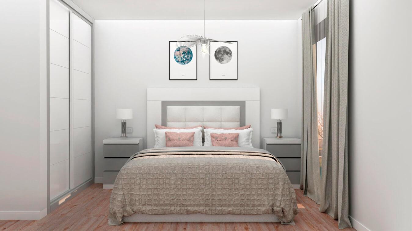 Dormitorio modelo GRANITO SOLAPADO - Ref: 0007
