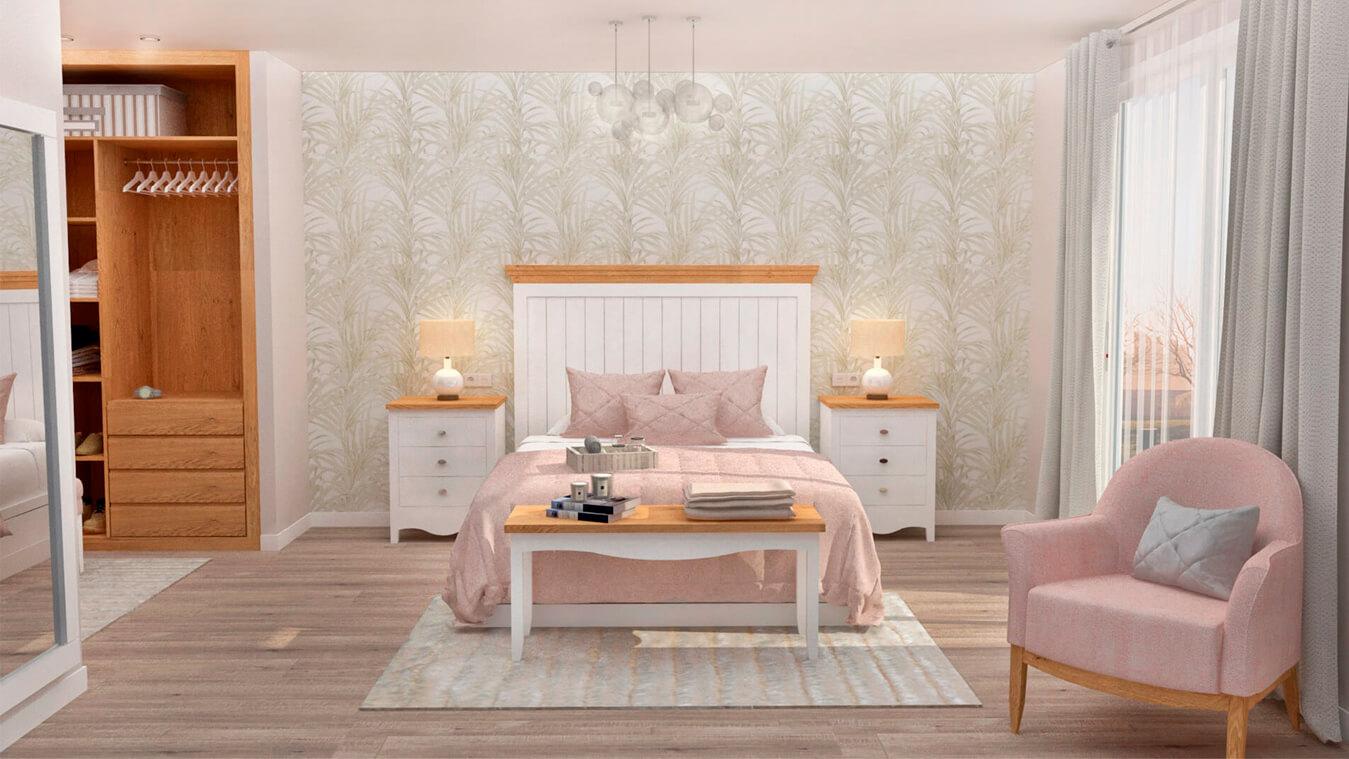 Dormitorio modelo ISABELLA - Ref: 0001
