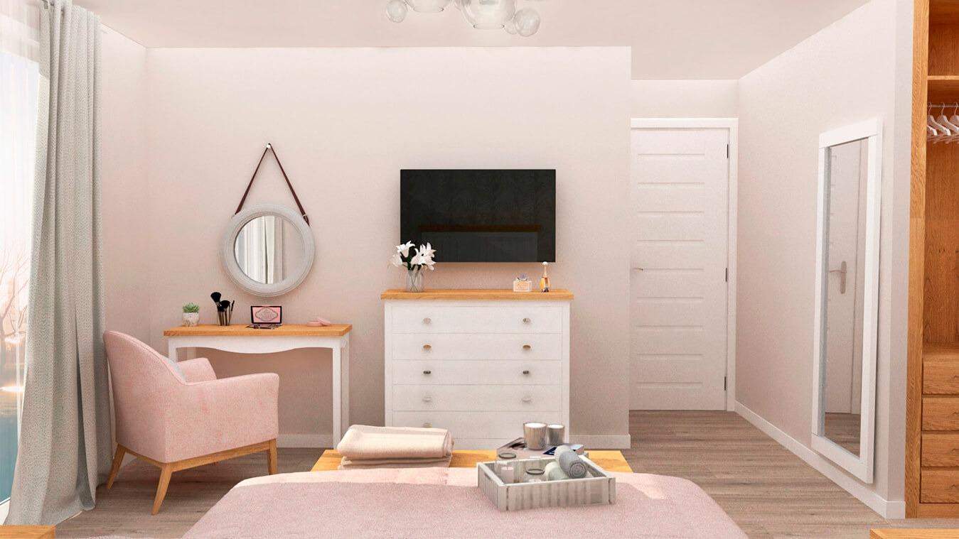 Dormitorio modelo ISABELLA - Ref: 0002