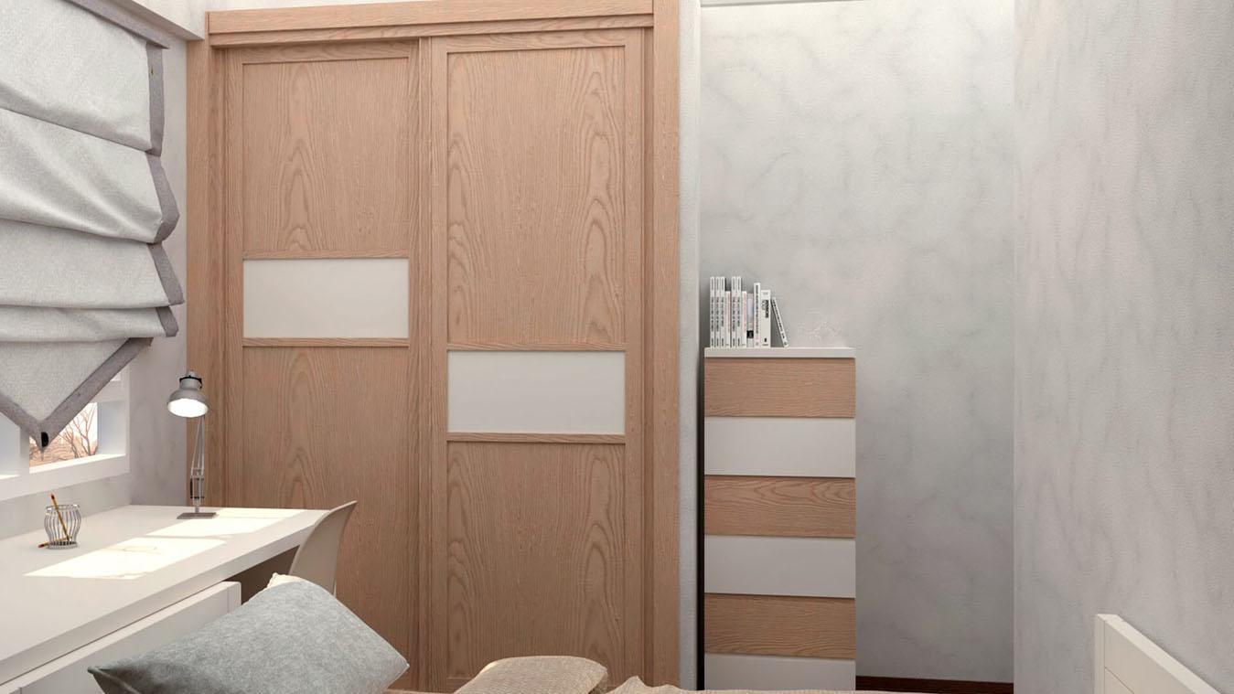 Dormitorio Juvenil CAMA NIDO - Ref: 0011