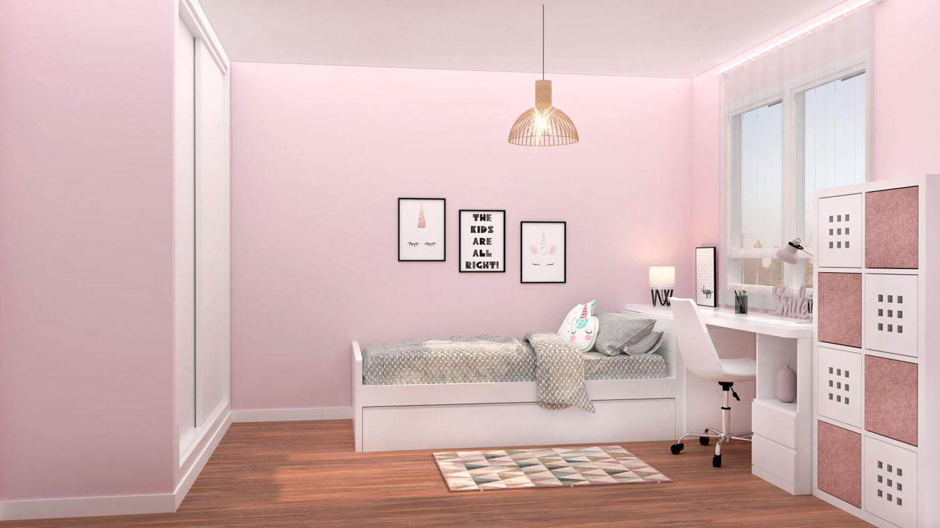 Dormitorio Juvenil CAMA NIDO - Ref: 0016