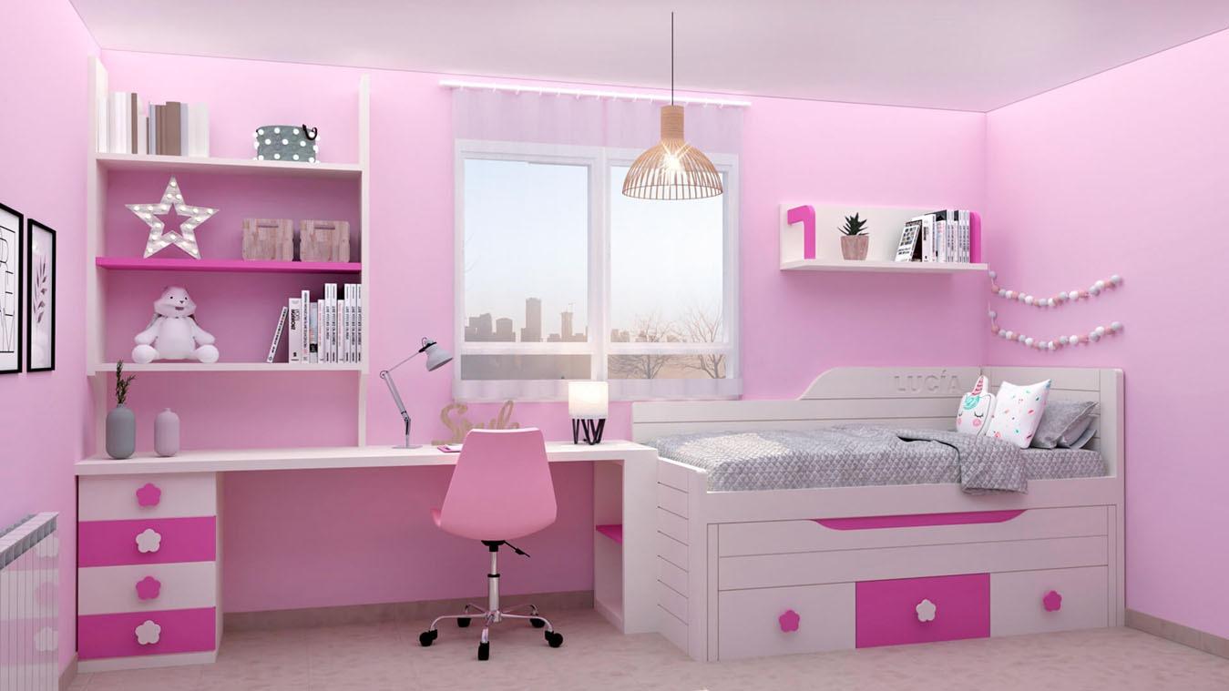 Dormitorio Juvenil COMPARTO - Ref: 0011