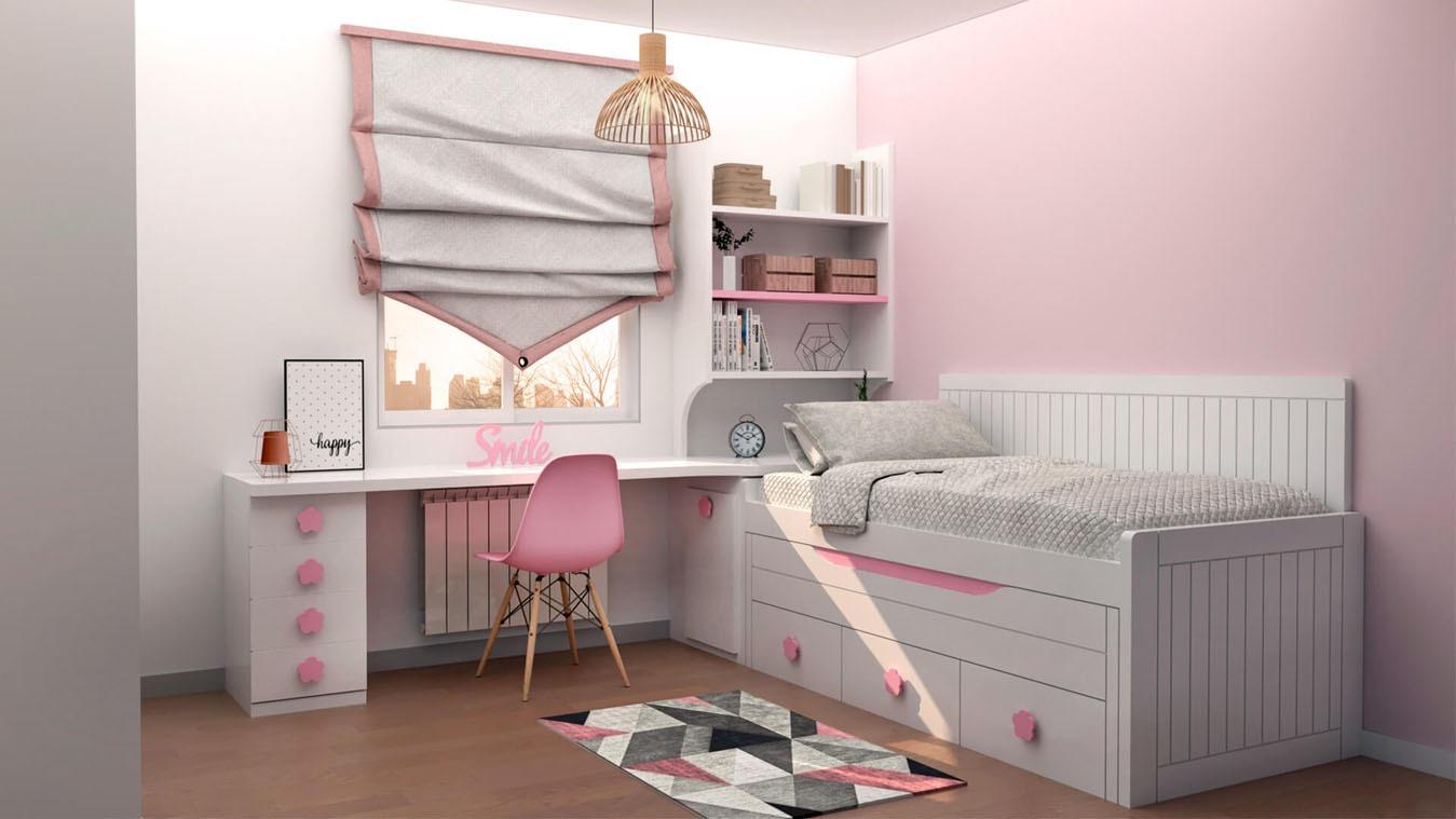 Dormitorio Juvenil COMPARTO - Ref: 0005