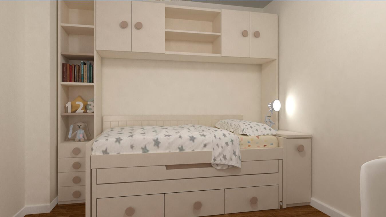 Dormitorio Juvenil COMPARTO - Ref: 0051