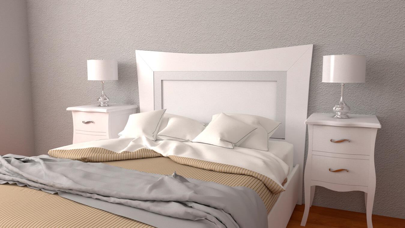 Dormitorio modelo LUIS XV - Ref: 0003