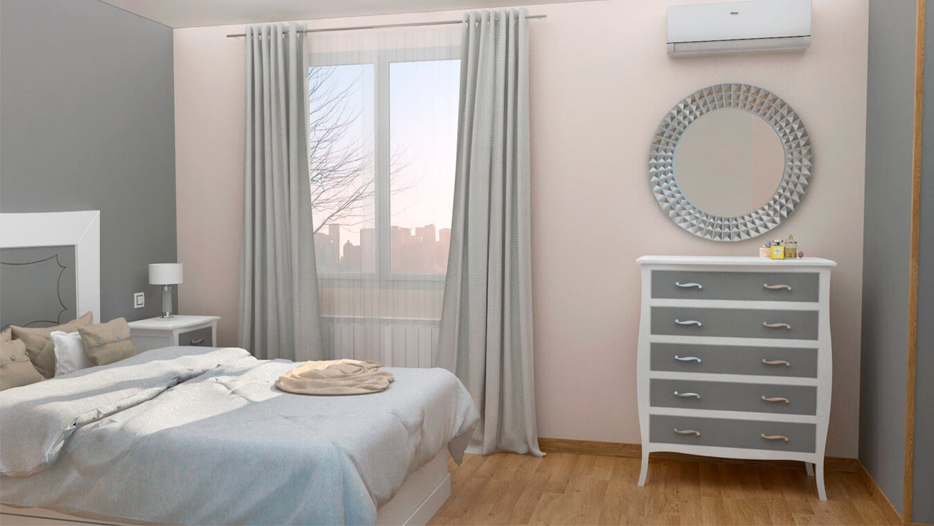 Dormitorio modelo LUIS XV - Ref: 0010