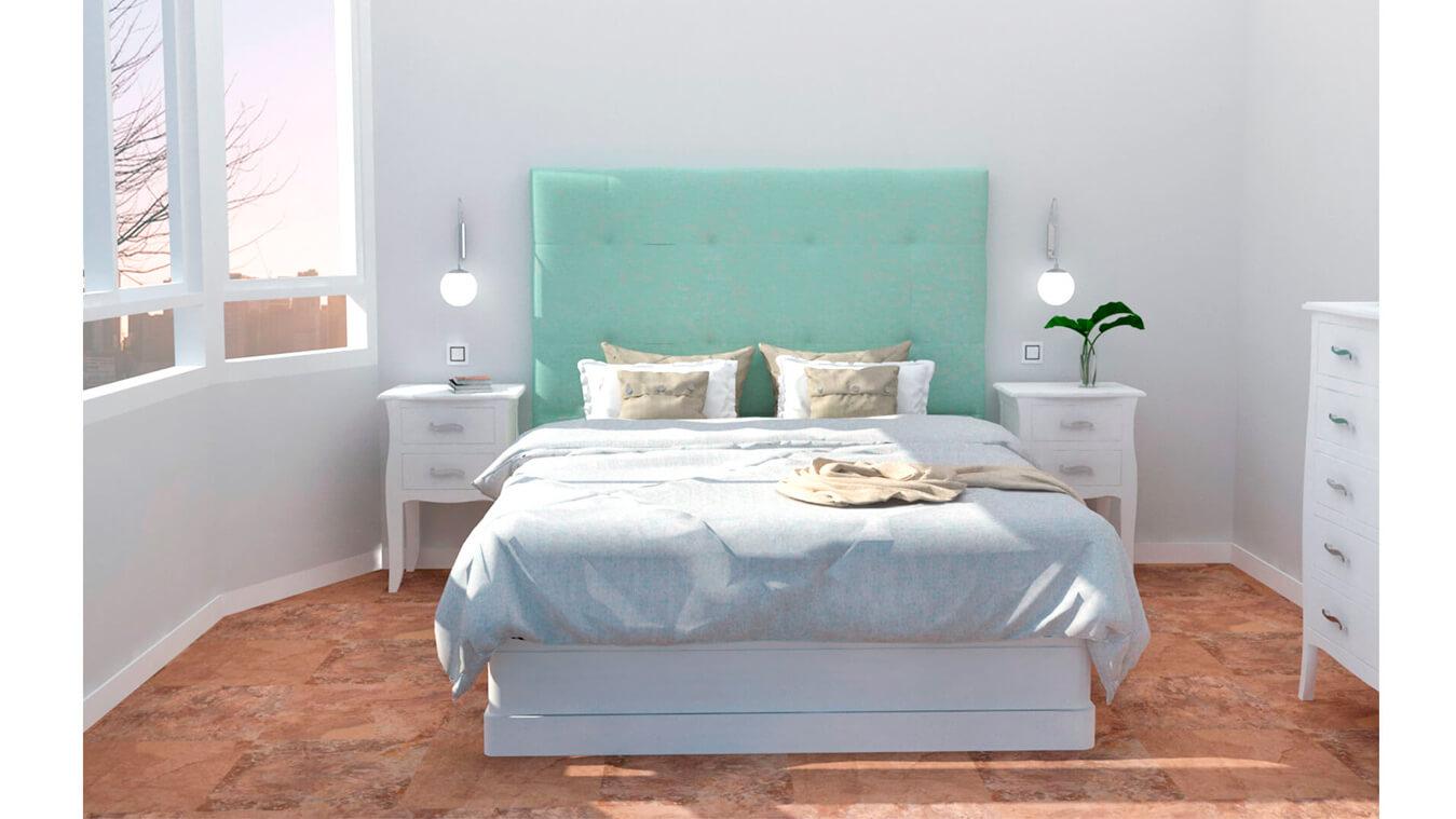 Dormitorio modelo LUIS XV - Ref: 0005