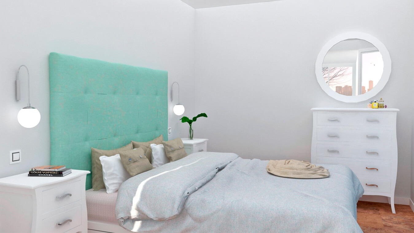 Dormitorio modelo LUIS XV - Ref: 0006