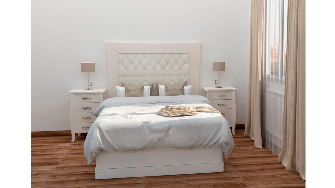 Dormitorio modelo LUIS XV - Ref: 0007