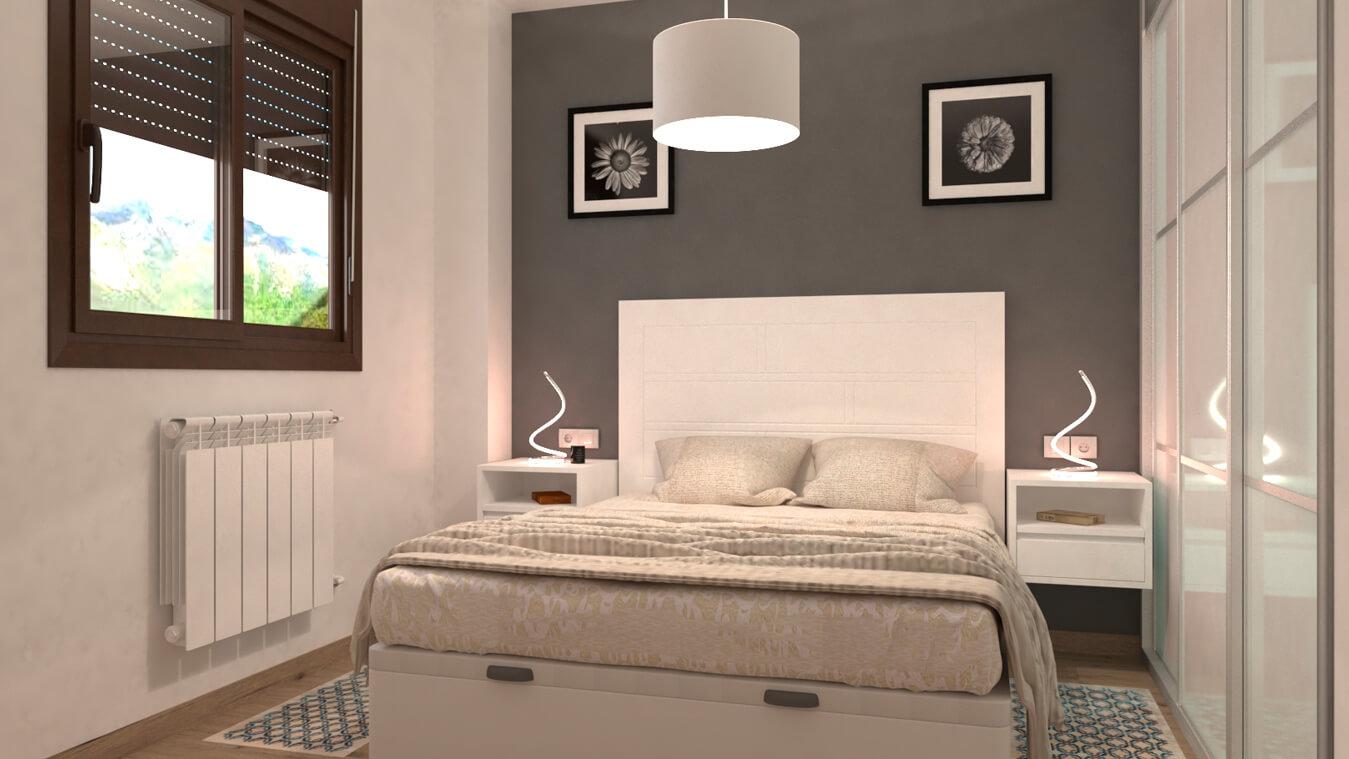Dormitorio modelo MODERNO BARBY - Ref: 0030