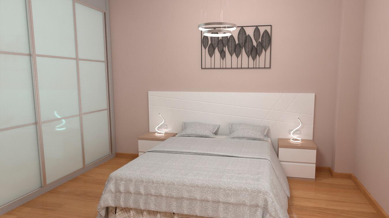 Dormitorio modelo MODERNO CORINA - Ref: 0023