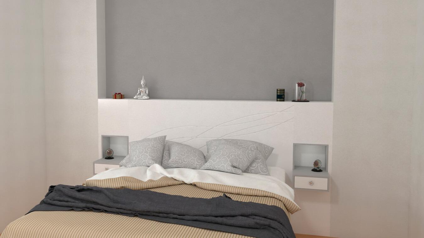 Dormitorio modelo MODERNO FRAN - Ref: 0027