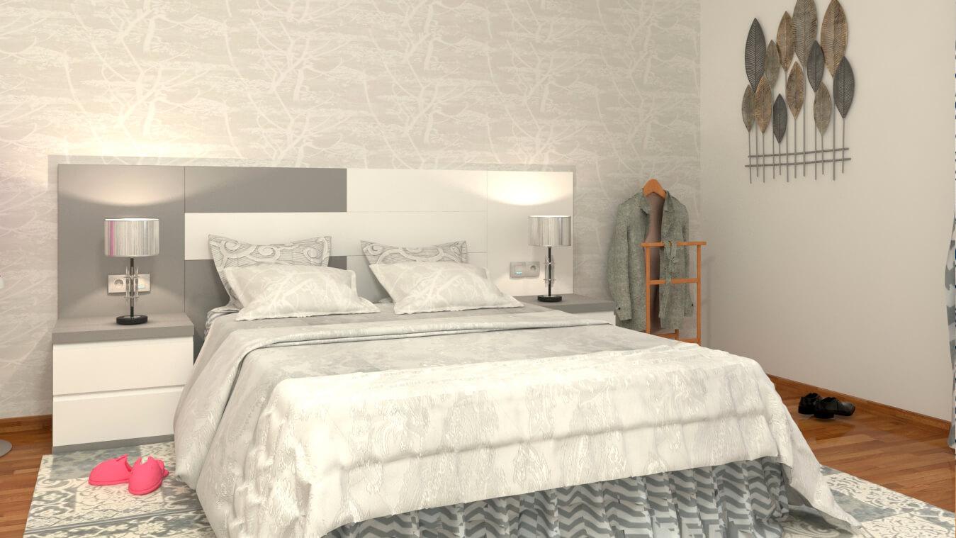 Dormitorio modelo MODERNO LICEO - Ref: 0016