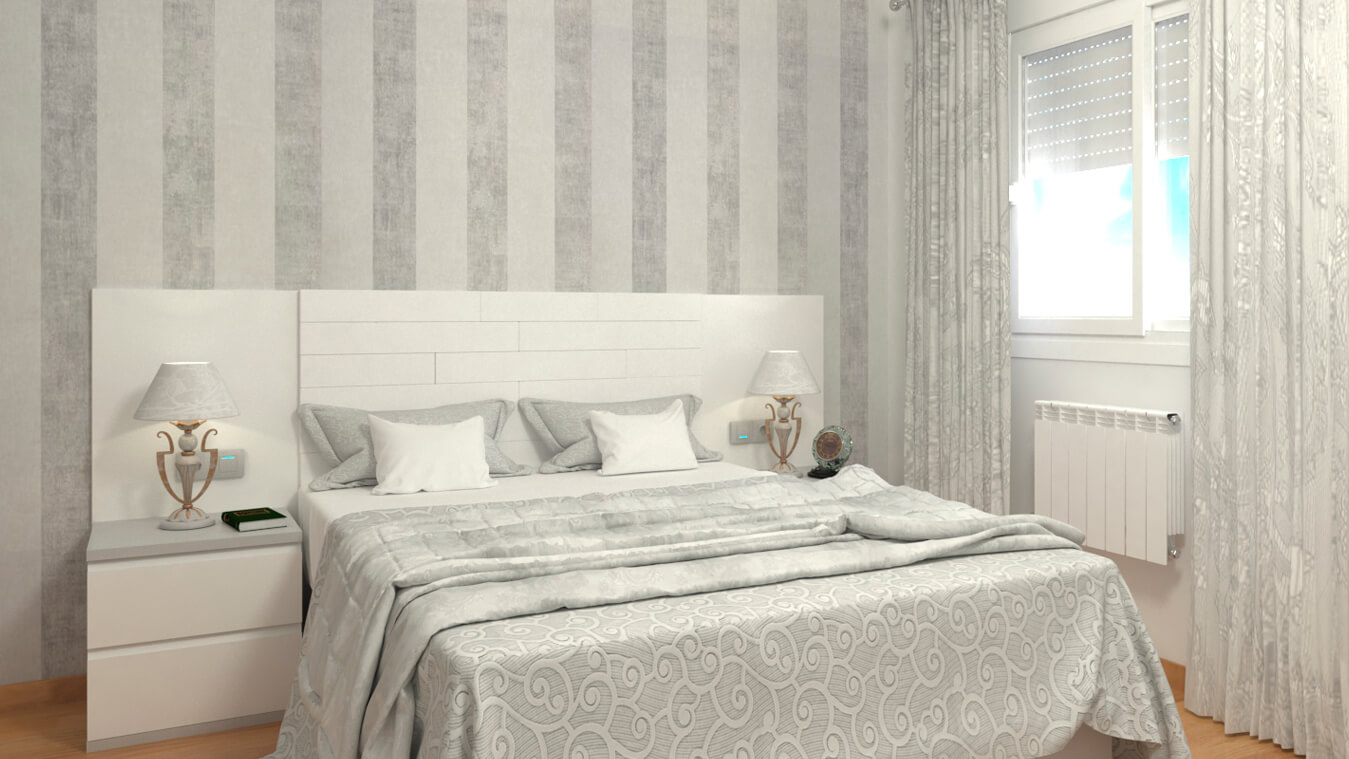 Dormitorio modelo MODERNO LUDI - Ref: 0017