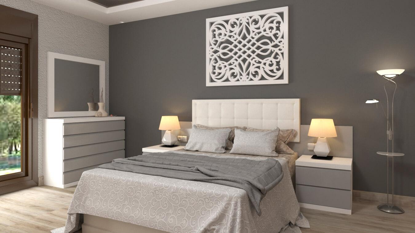 Dormitorio modelo MINERVA - Ref: 0020