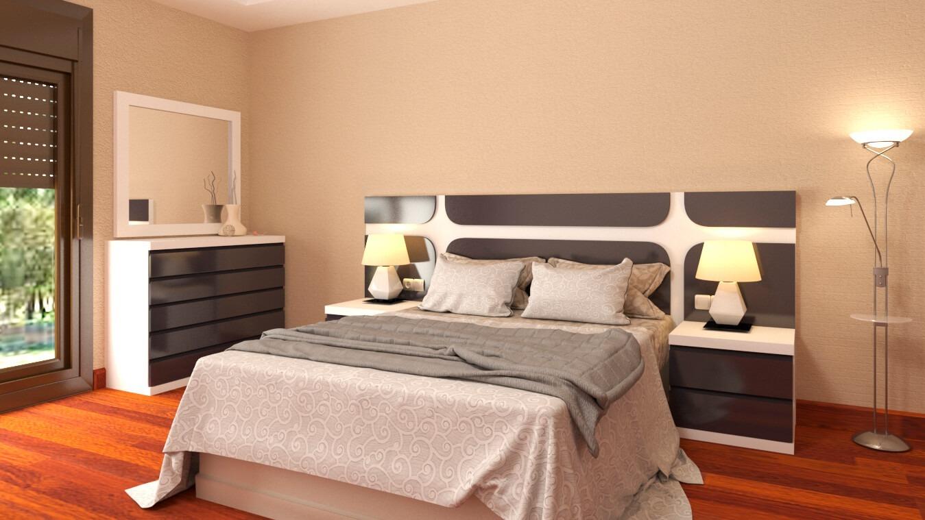 Dormitorio modelo MODERNO RINGO - Ref: 0021