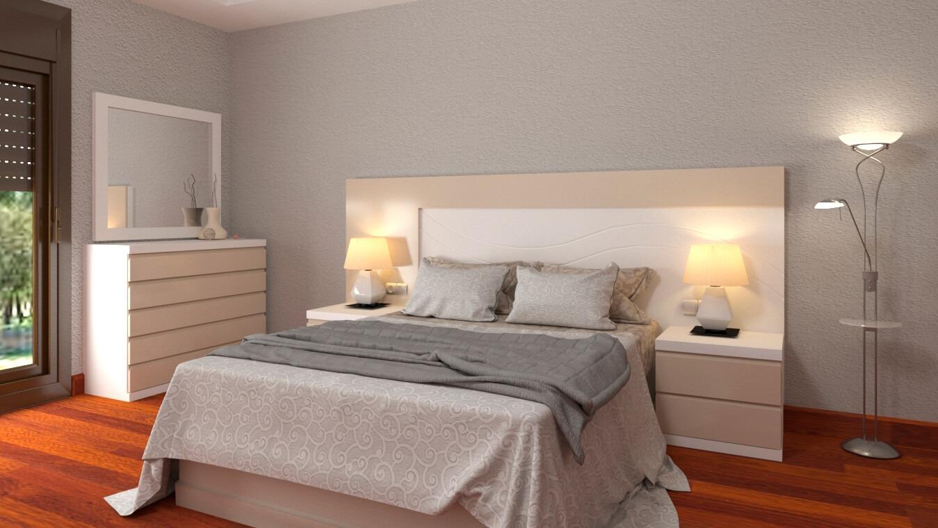 Dormitorio modelo MODERNO ROMANTIC - Ref: 0022