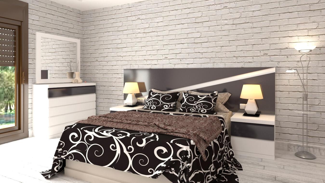 Dormitorio modelo MODERNO SHERY - Ref: 0028