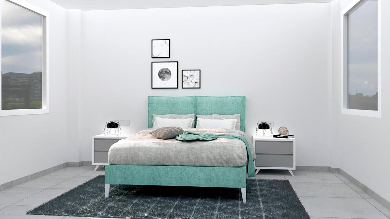 Dormitorio modelo MODERNO - Ref: 0010