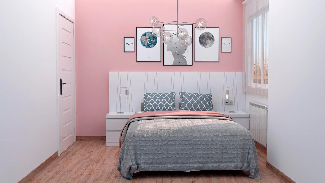 Dormitorio modelo MODERNO - Ref: 0011
