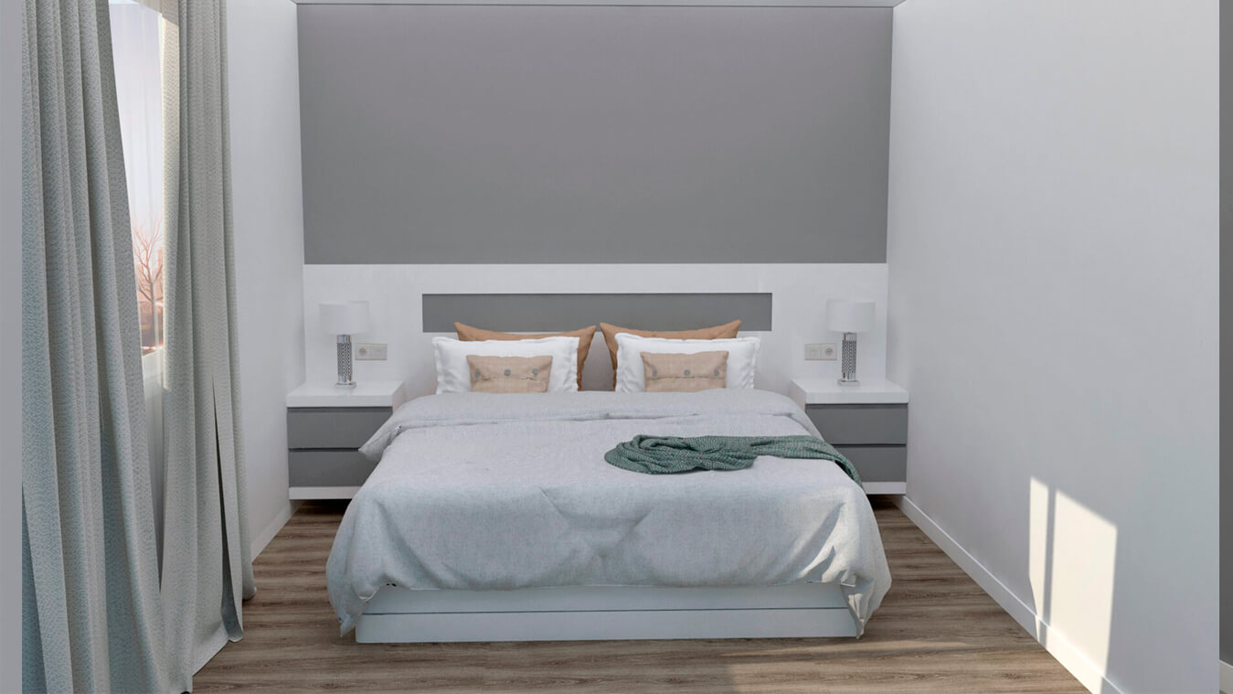 Dormitorio modelo MODERNO - Ref: 0007