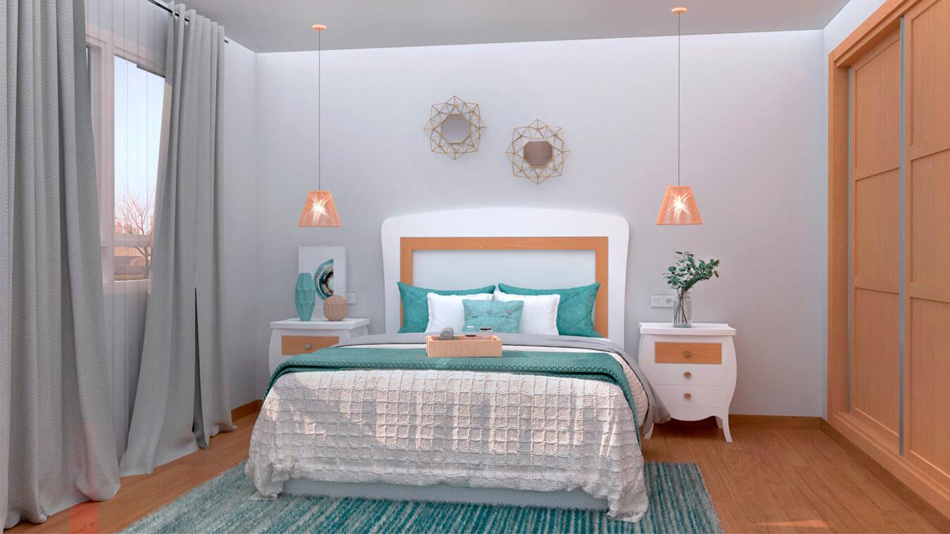 Dormitorio modelo SECRETO - Ref: 0001