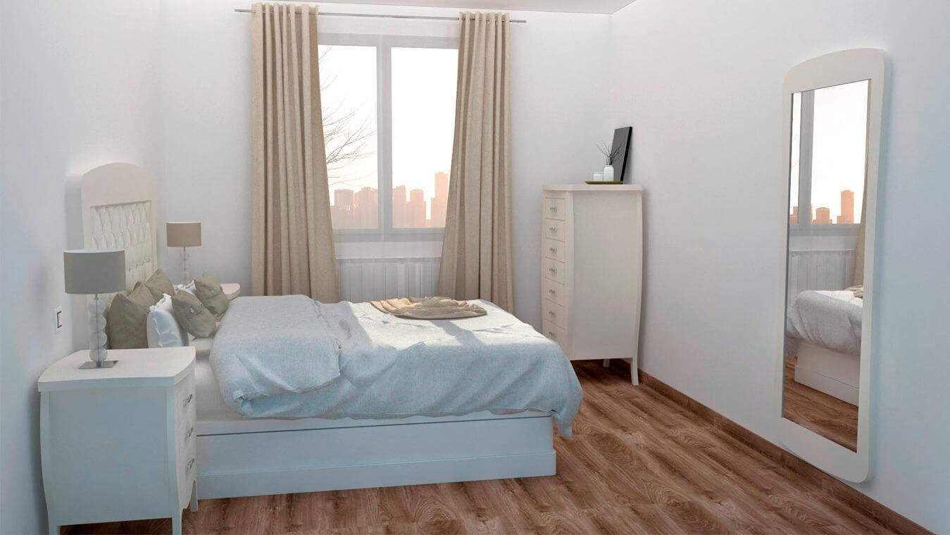 Dormitorio modelo SECRETO - Ref: 0009