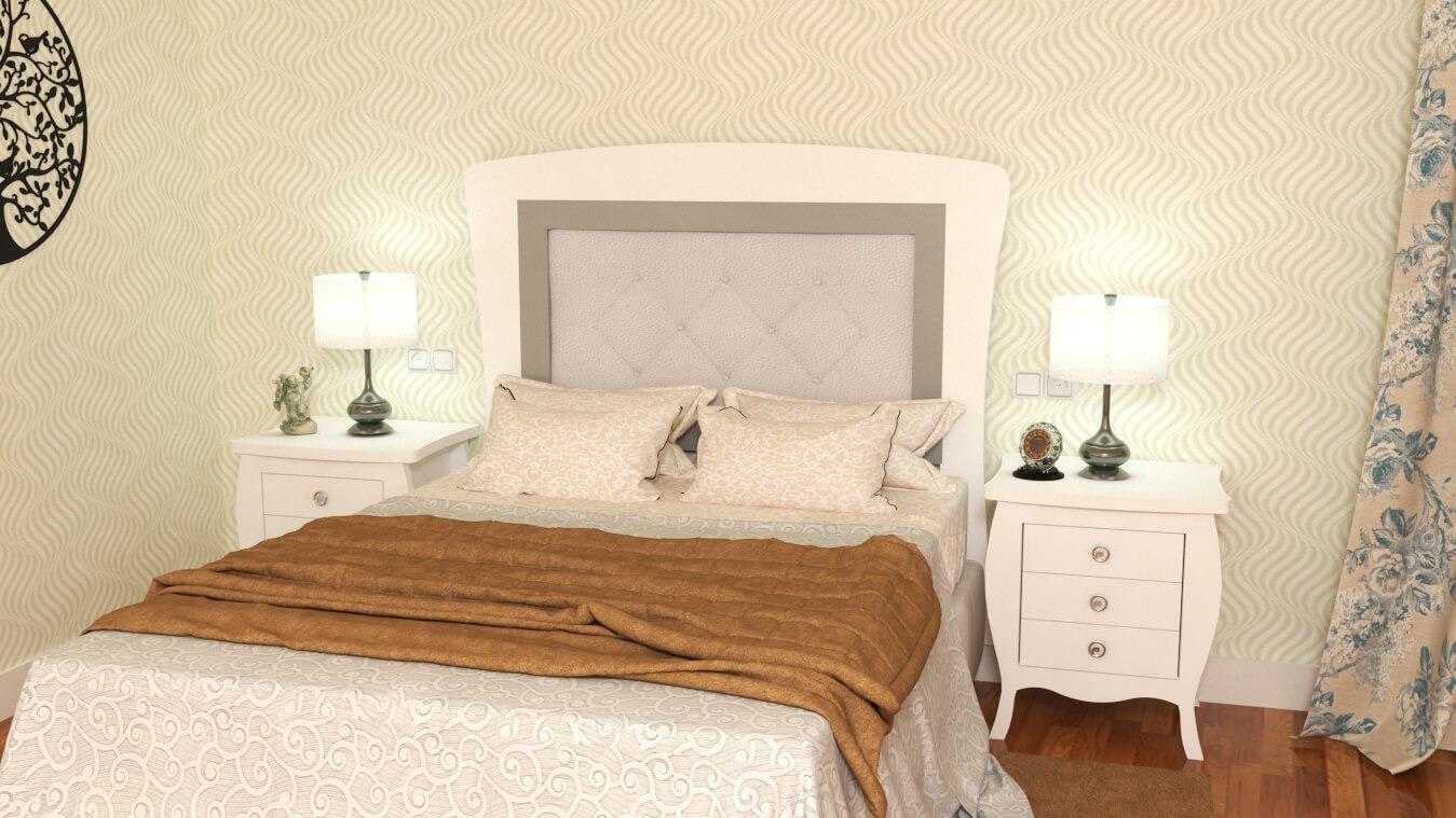 Dormitorio modelo SECRETO - Ref: 0010