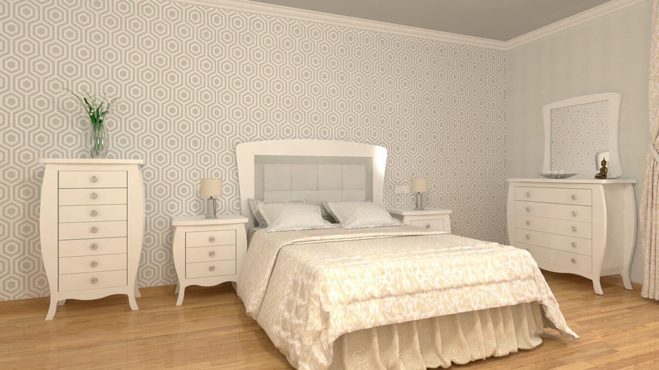 Dormitorio modelo SECRETO - Ref: 0012