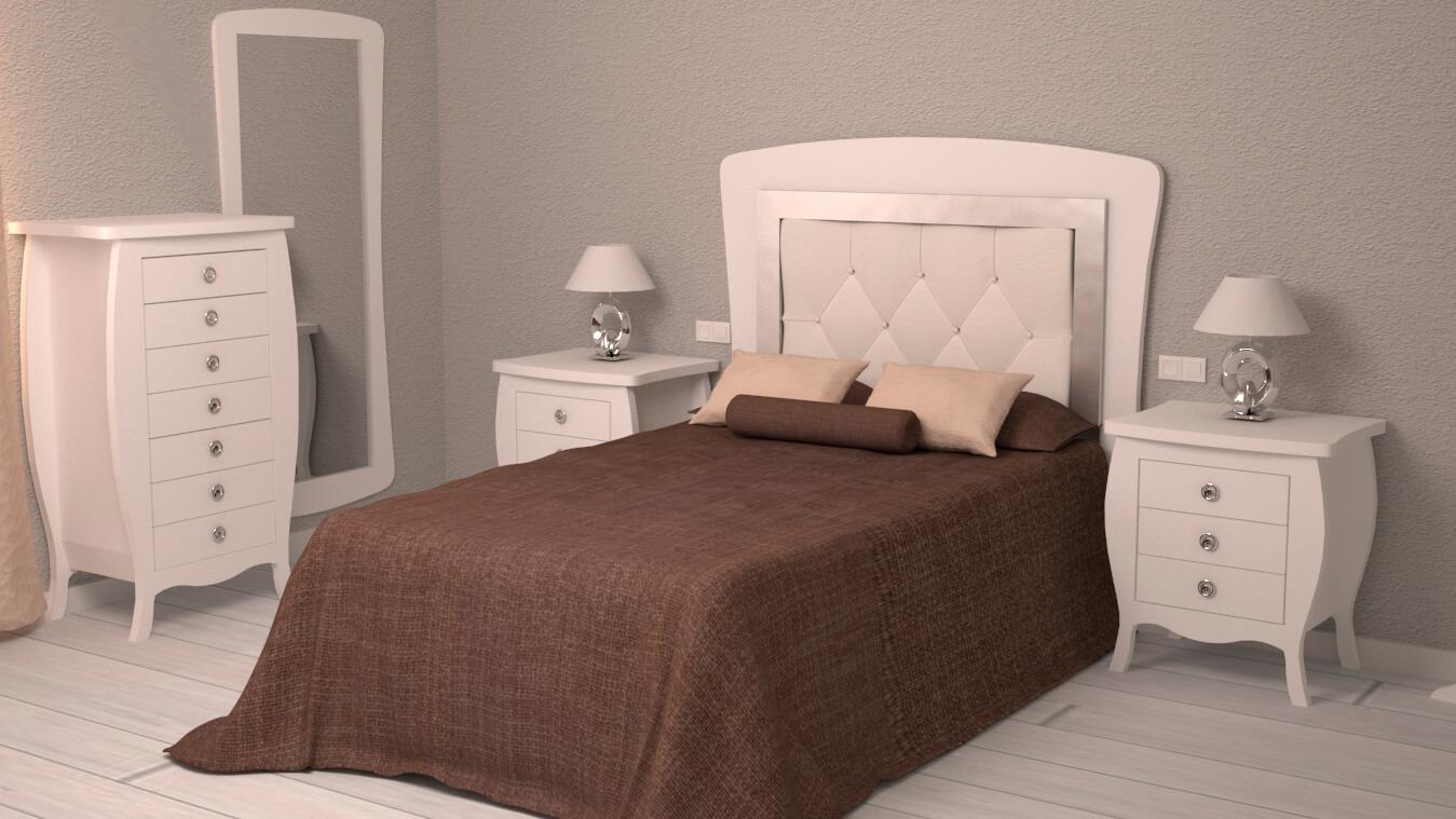 Dormitorio modelo SECRETO - Ref: 0014