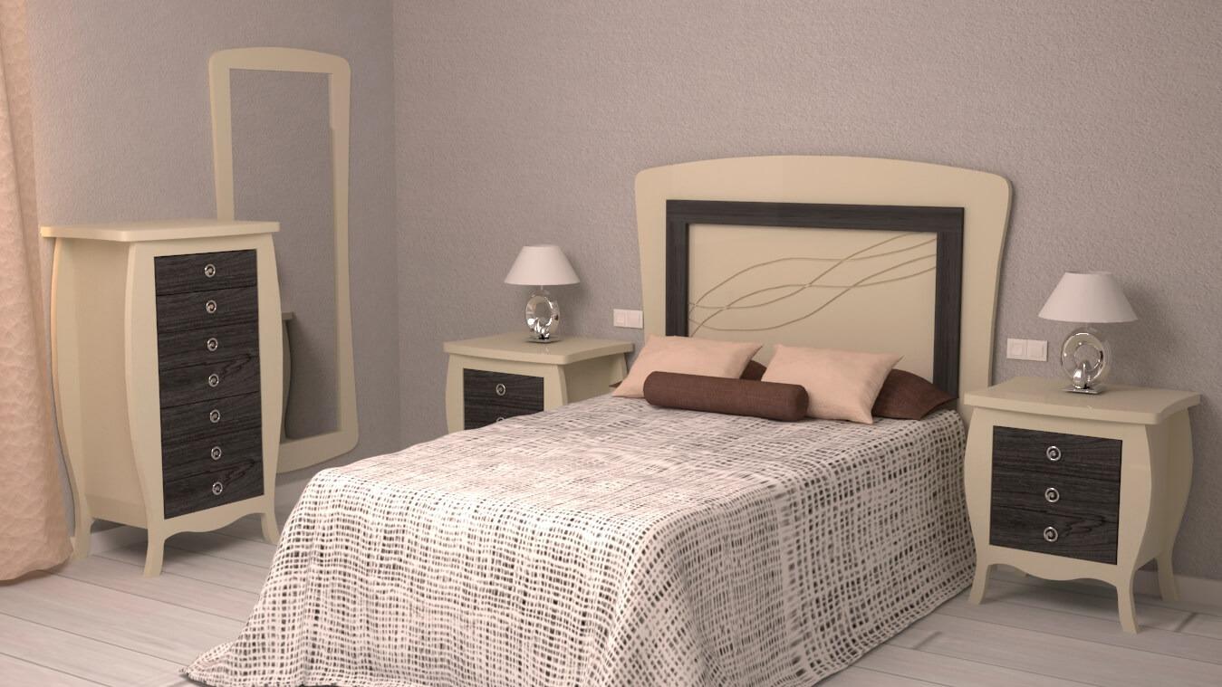 Dormitorio modelo SECRETO - Ref: 0015