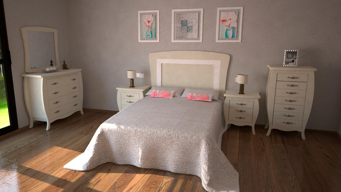 Dormitorio modelo SECRETO - Ref: 0016