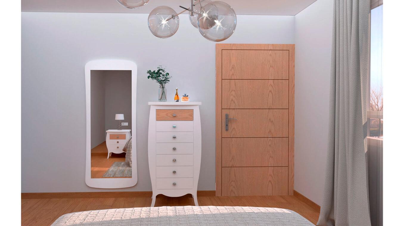 Dormitorio modelo SECRETO - Ref: 0018