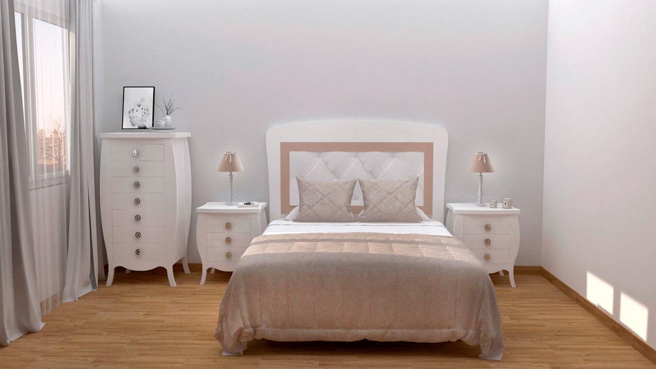 Dormitorio modelo SECRETO - Ref: 0003