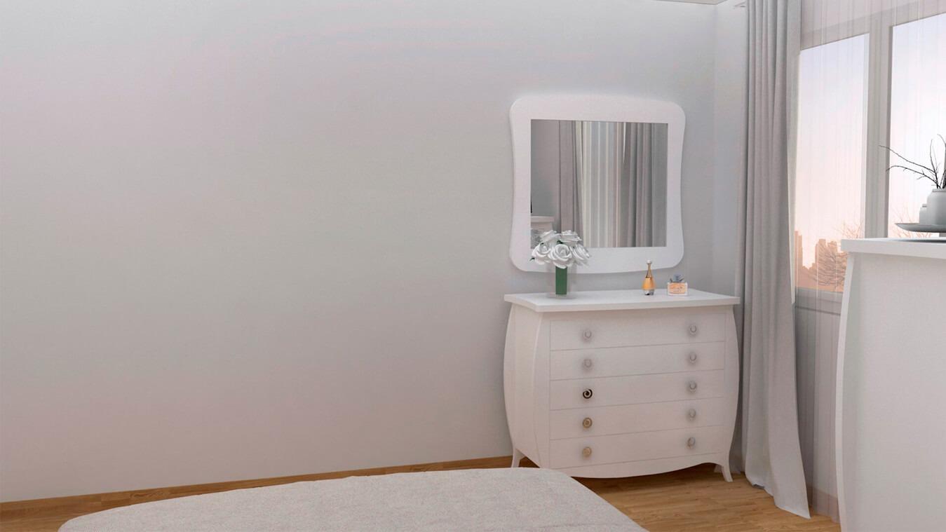 Dormitorio modelo SECRETO - Ref: 0017