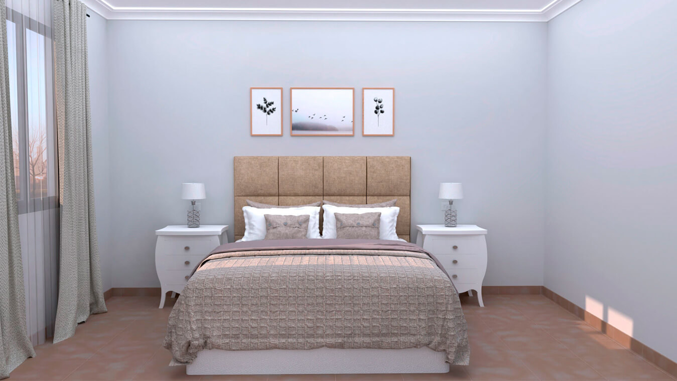 Dormitorio modelo SECRETO - Ref: 0006
