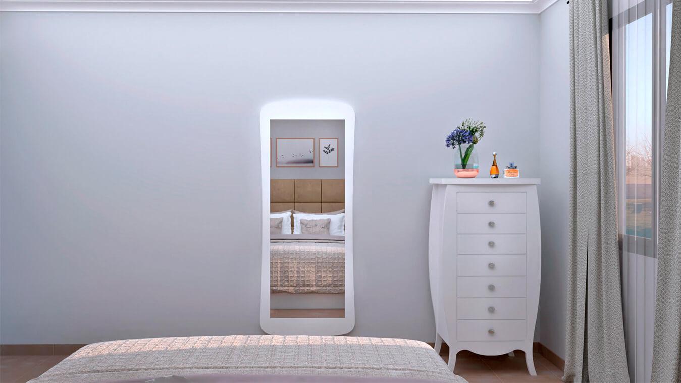 Dormitorio modelo SECRETO - Ref: 0020
