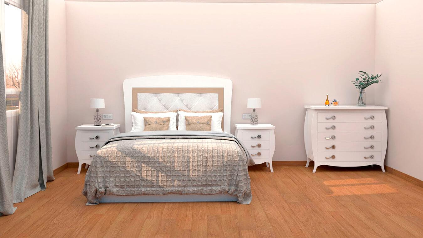 Dormitorio modelo SECRETO - Ref: 0007