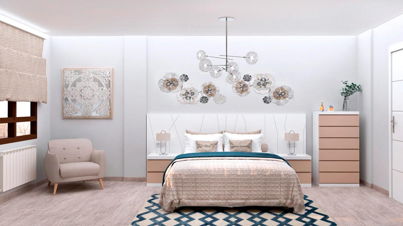 Dormitorio modelo YAKI - Ref: 0018