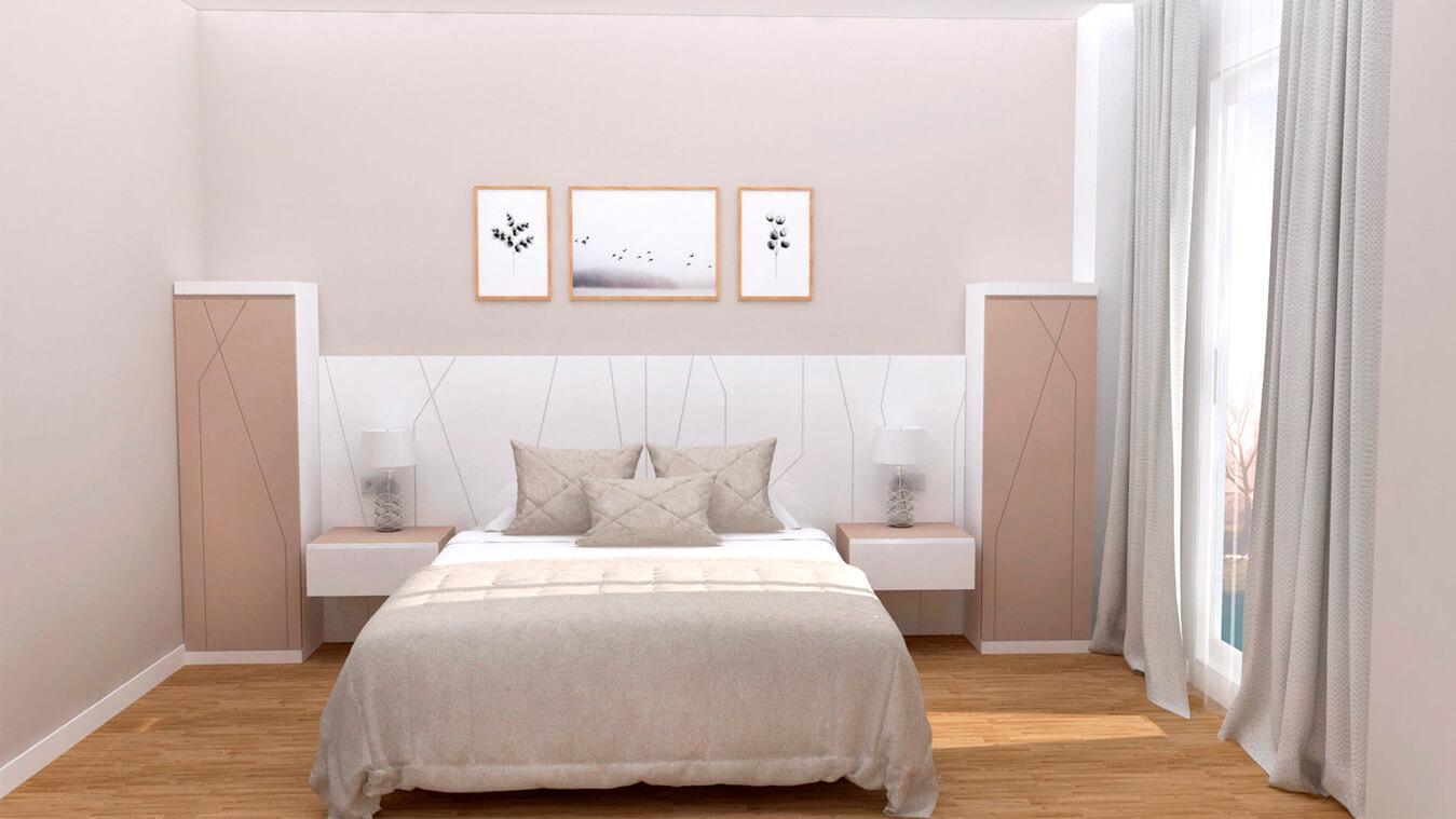 Dormitorio modelo YAKI - Ref: 0011